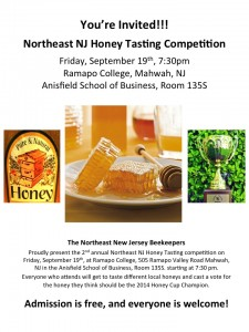 Honey Tasting Competition 2014